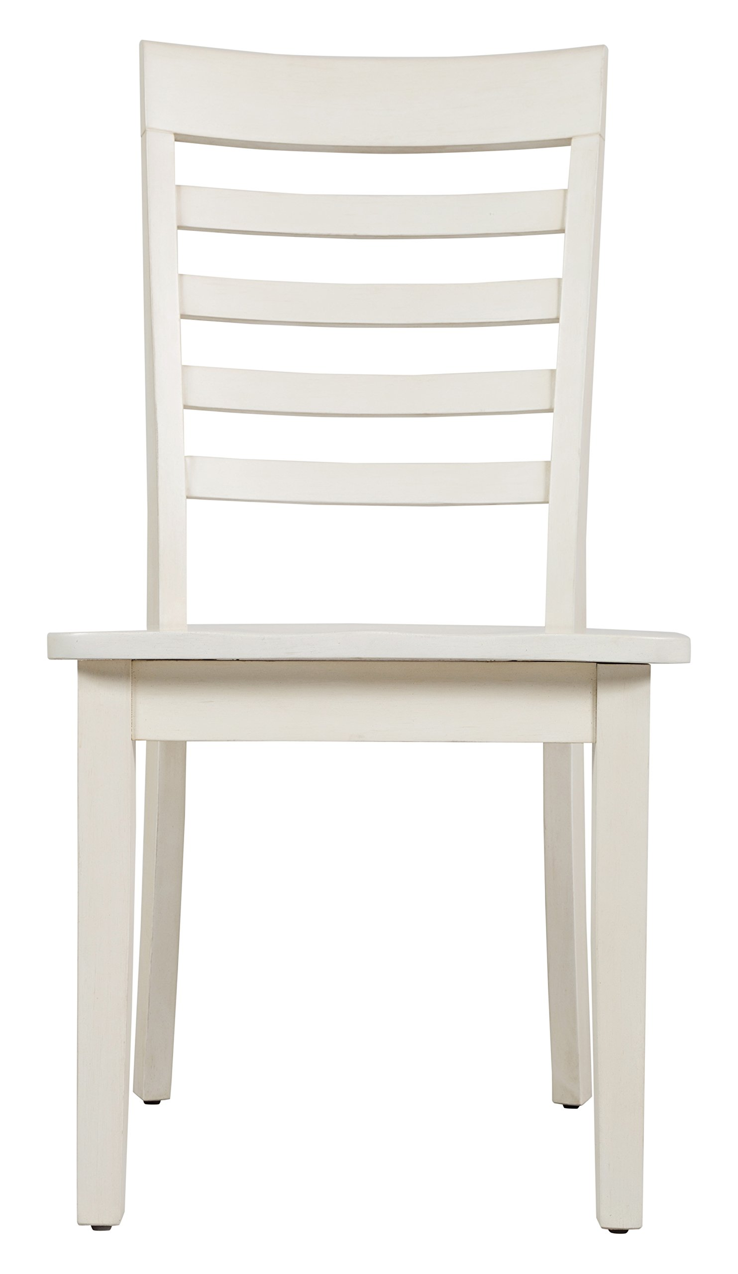 Jofran: 1629-912KD, Everyday Classics, Ladderback Dining Side Chair, 19''W X 22''D X 37''H, Linen Finish, (Set of 2) by Jofran