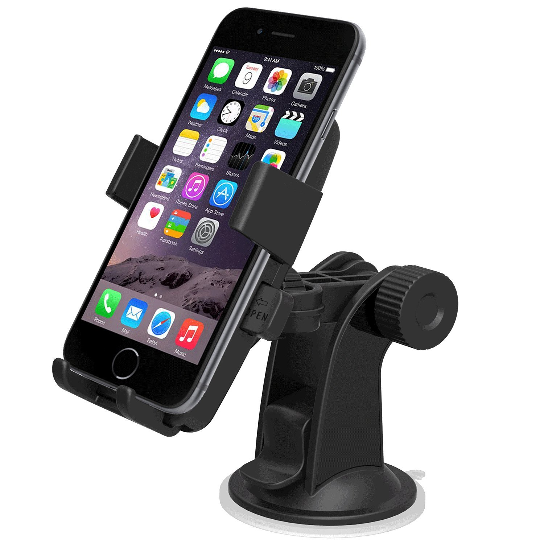 Amazon.com: iOttie Easy One Touch Car Mount Holder for iPhoneX 8 7s ...