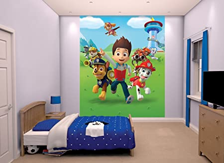 Walltastic Paw Patrol Wallpaper Mural Paper 8 X 65 Ft