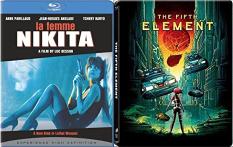 La Femme Nikita & The Fifth Element Steelbook Blu-ray Luc