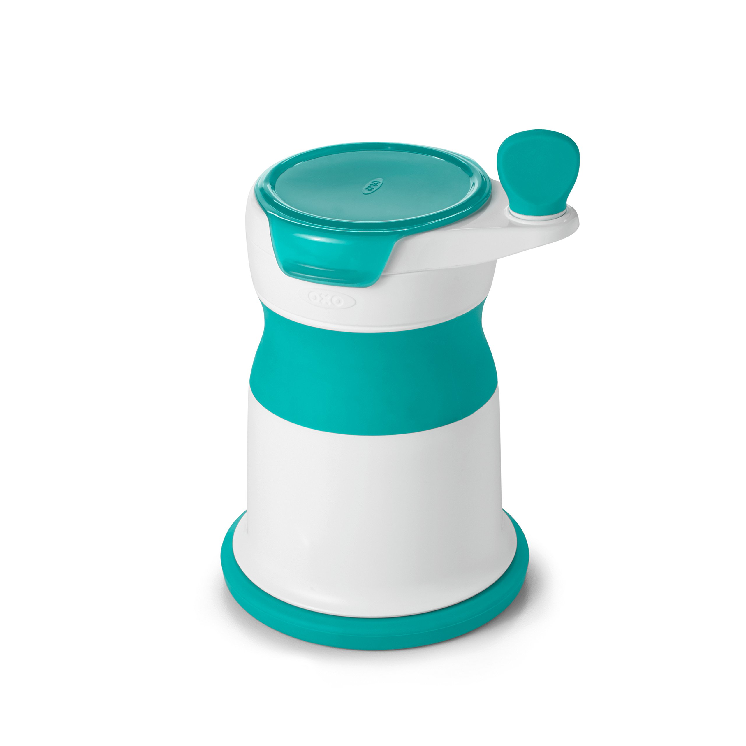 OXO Tot Mash Maker Baby Food Mill, Teal by OXO Tot (Image #1)
