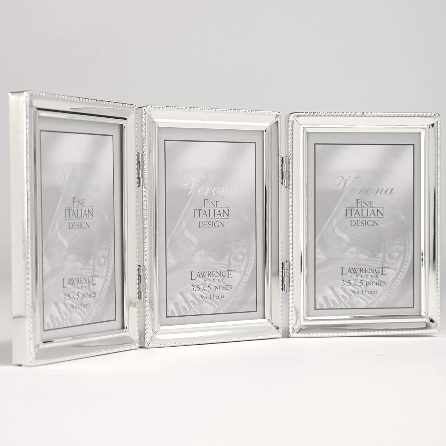 Lawrence Frames Lawrence Metals Frame 3.5x5 Silver