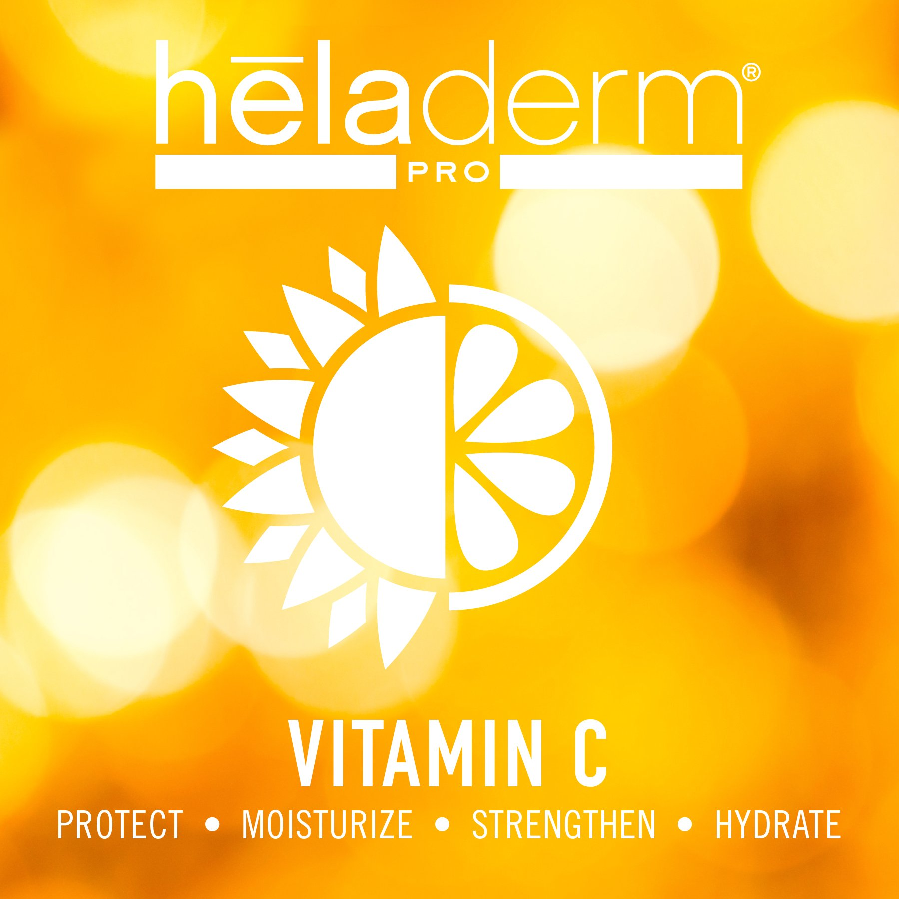 Vitamin C Serum for face with Advanced Hyaluronic Acid, Vitamin E, and Aloe. Natural Anti-Aging Anti-Wrinkle Facial Serum, Restore & Boost Collagen, Moisturizer, Organic, Heladerm 1 fl. Oz