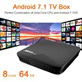 (Update Version) NewPal M8S pro TV box 3G 16G Andriod 7.1 tv box ARM Cortex-A53 CPU up to 2 GHz full loaded stream media player