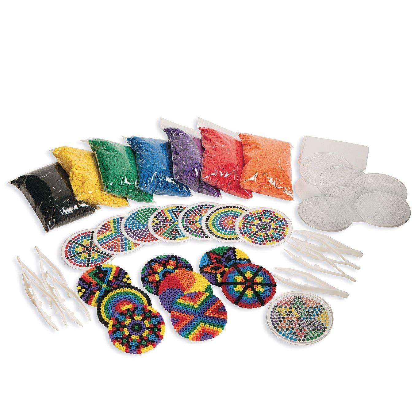 Color Splash! Mandala Fuse Bead Easy Pack by Color Splash