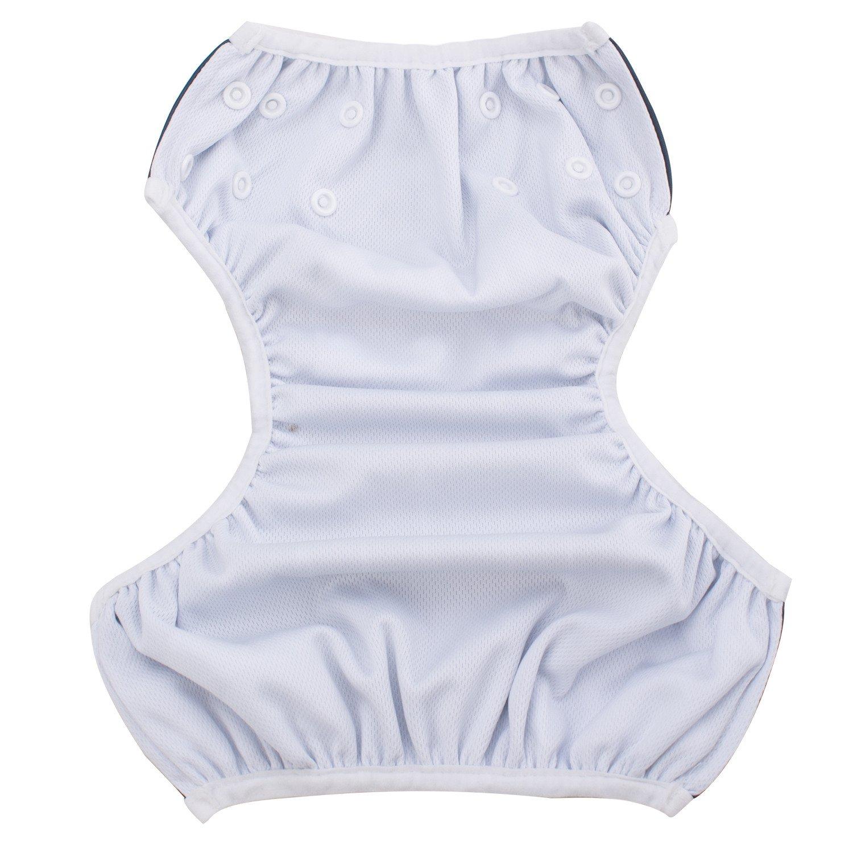 Storeofbaby Baby Swim Diaper Washable Adjustable Short Pants for Pool Beach 0-3 Years