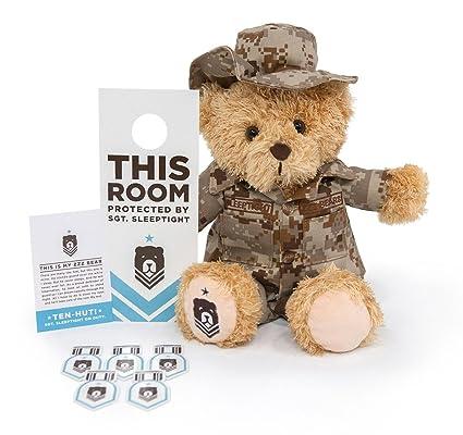 f5e7b493f Amazon.com  ZZZ Bears Sgt. Sleeptight Teddy Bear in Authentic Marine ...