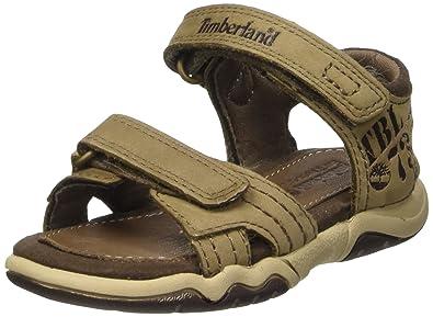Timberland Unisex Kids' Oak Bluffs Leather 2strap Casual Sandal