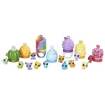amazon com littlest pet shop rainbow friends toys games