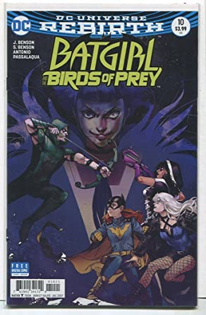 Amazon Com Batgirl Birds Of Prey 10 Nm Rebirth Dc Comics Md9 Entertainment Collectibles
