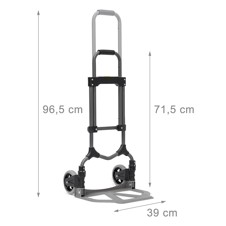 ec59f9868ad1 Relaxdays Transport Trolley For Max 70 kg (154 lbs), 97.5 x 39 x 42 ...
