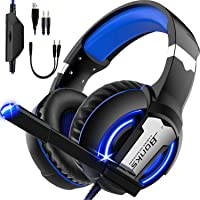 SEASKY Auriculares para Juegos,Auriculares para Juegos con Aislamiento de Ruido con Cable de,Micrófono para PS4 Xbox…