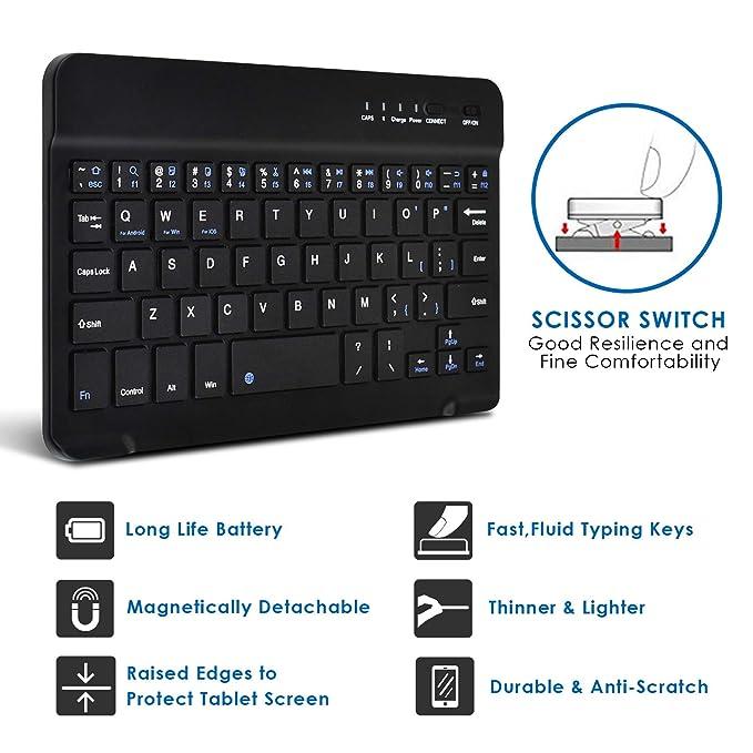 Amazon.com: Funda universal para tablet de 7 pulgadas, LG G ...