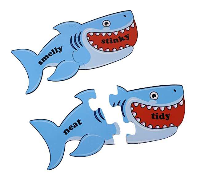 Amazon com: Curious Minds Busy Bags Shark Synonyms Word