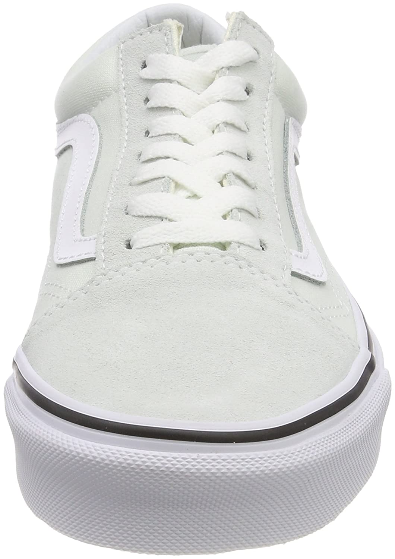Vans Old Skool Unisex Adults' Low-Top Trainers B074HDC5S3 11.5 Women / 10 Men M US|Blue Flower/True White