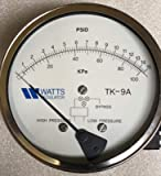 Watts Backflow Test Kit TK9A PRO Equipped with Free Line Pressure Gauge