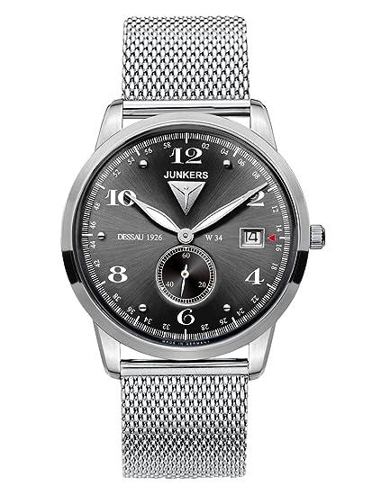 Junkers Reloj de Pulsera analógico Cuarzo Acero Inoxidable 6334 M2