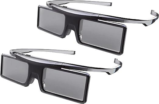 Universal GX21AB - Gafas 3D para televisores Thomson y TCL 3D (paquete doble, funciona con pilas, modo de juego), color negro: Amazon.es: Electrónica