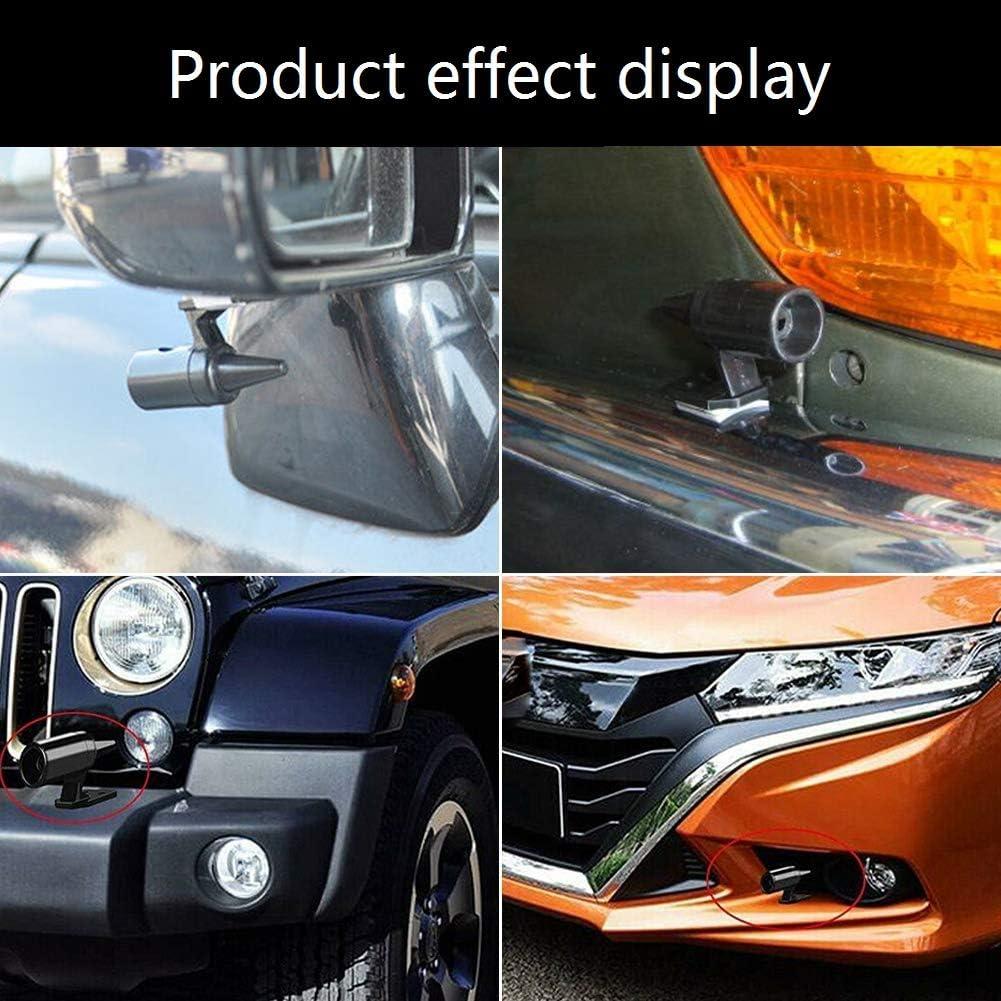 B Animaux Dispositifs Alarme pour Voitures Motos SUV Ultrasonique Alerte pour Eviter Cerfs Collisions DEDC 8 Pcs Siffle Cerf Avertissement