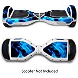 Skin for Self Balancing Scooter Stickers for Scooter Electric Hoover boards Skateboard Decal for Self Balance Electric Skateboard Bluetooth - Cover Fit Real 2 Wheel Scooter - Case Stickers for Motorized Longboard Drifting Boards by GameXcel ®