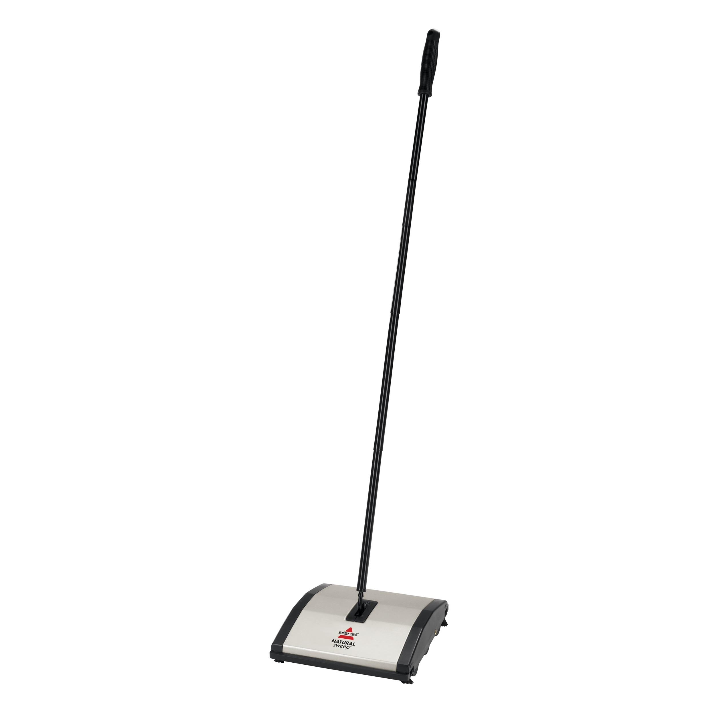Bissell Natural Sweep Carpet and Floor Sweeper with Dual Brush Rotating System and 4 Corner Edge Brushes, 92N0A by Bissell