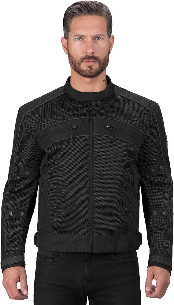 Viking Cycle Ironside Textile Mesh Motorcycle Jacket