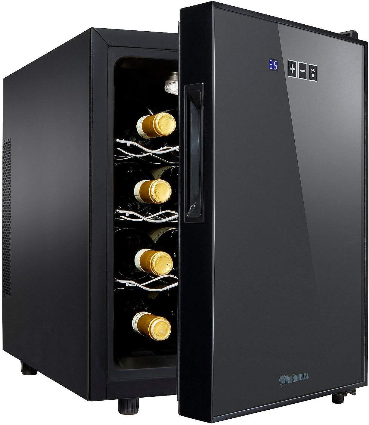 Wine Enthusiast 12-Bottle Compact Wine Cooler