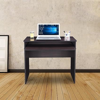Royaloak Venus Computer Table (Black)
