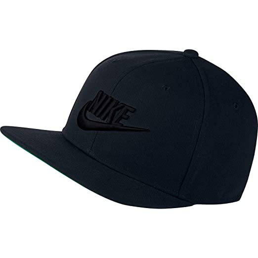 Amazon.com: NIKE Mens Pro Futura Snapback Hat Black/Pine Green/White 891284-010,One Size: Nike: Clothing