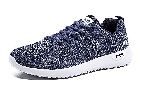 Aitaobao Hombre Mujer Zapatillas Casual Running para Aire Libre Transpirables Deporte Zapatos Deportivos Gimnasio Correr Pareja Sneakers Negro Azul Gris ...