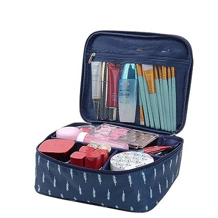 cf6685f42bc Yeelan Voyage Sac Cosmétique Portable Make Up Case Pochette Imperméable À  L eau De