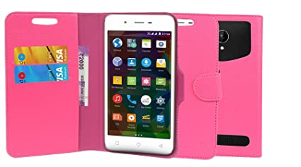 buy online ca77e 6e5e4 TIMBU Flip Flap Cover Case with Wallet: Amazon.in: Electronics