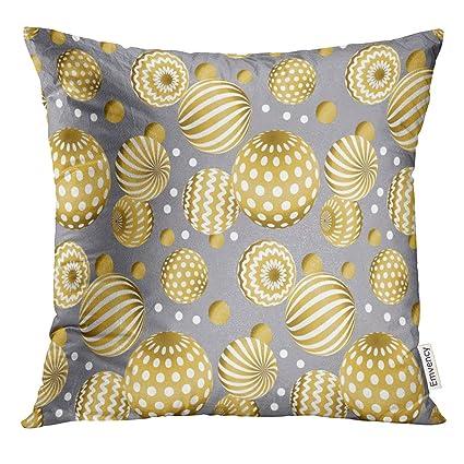 Prime Amazon Com Vanmi Throw Pillow Cover Gray Golden Abstract Short Links Chair Design For Home Short Linksinfo