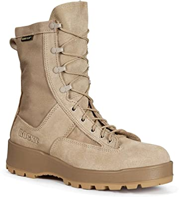 Amazon.com | Men's Rocky Temperate Weather GTX Military Boots ...