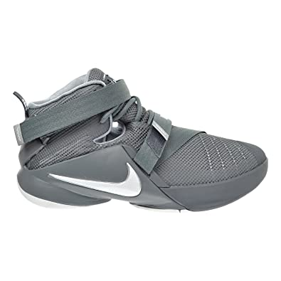 Nike Lebron Soldier IX (GS) Big Kid's Shoes Cool Grey/White/Wolf