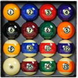 Aramith 57.2mm Tournament Billard Pool Ball Set/16 Balls