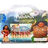 Disney Moana Coloring Activity Pad with Stickers - Moana Coloring Book for Kids