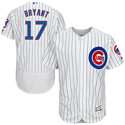 Majestic Athletic NO.17 Mens Kris Bryant Chicago Cubs Home Baseball Jersey - White