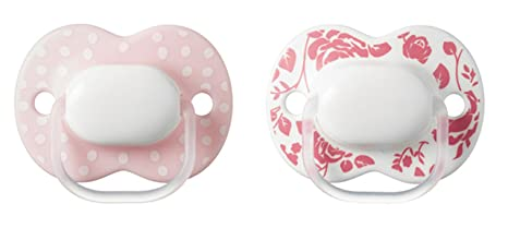 Tommee Tippee Little London: 2 x Chupete 0-6m (Rosa): Amazon ...