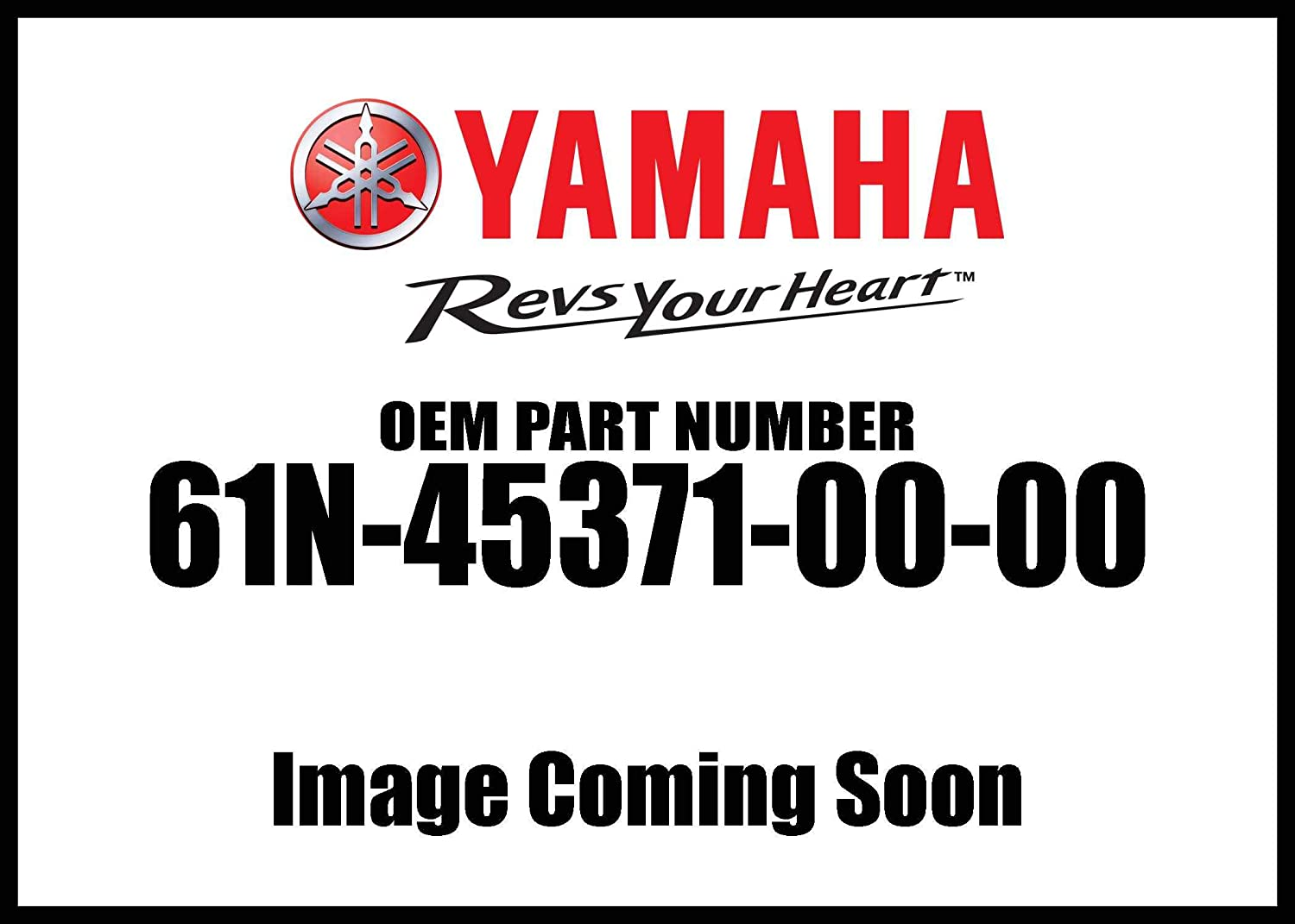 Yamaha 61N-45371-00-00 Trim-Tab; 61N453710000 Made by Yamaha
