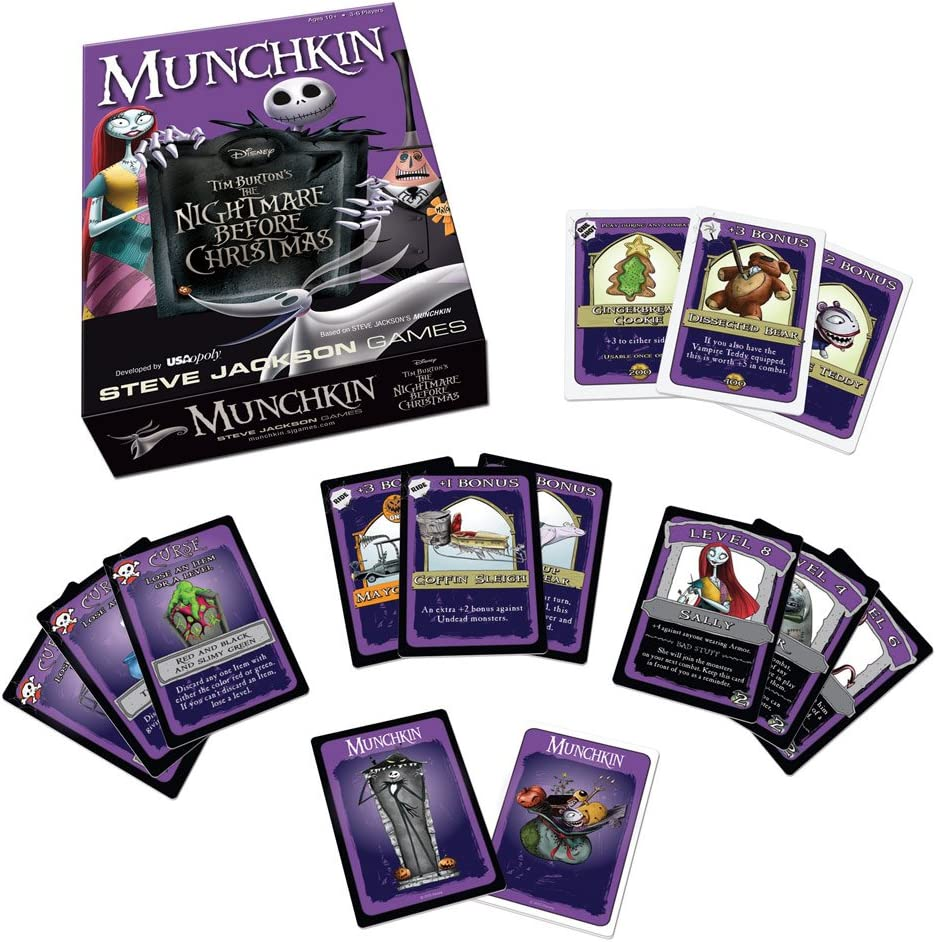 Munchkin: The Nightmare Before Christmas: USAopoly: Amazon.es: Juguetes y juegos