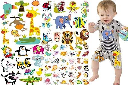dddf73db4 Kids Iron on Transfers Patches Set - Animals Iron On Light T-Shirt Transfer  Paper