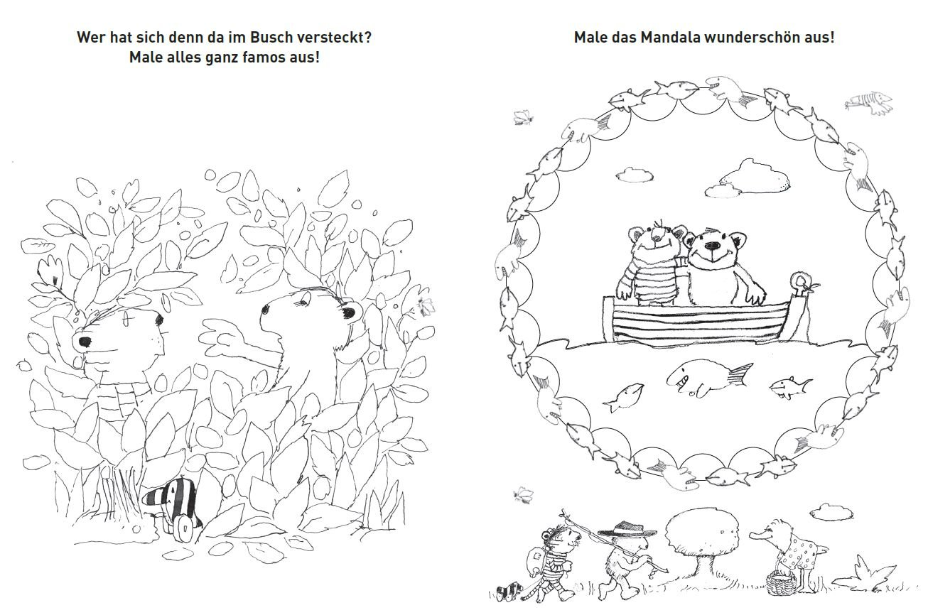 Janosch Mein Famoses Malbuch Amazon De Janosch Bücher