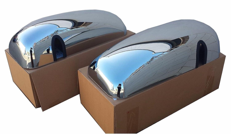 Kenworth T600 Chrome Mirror Cover Set tm 21745 21746 CPW