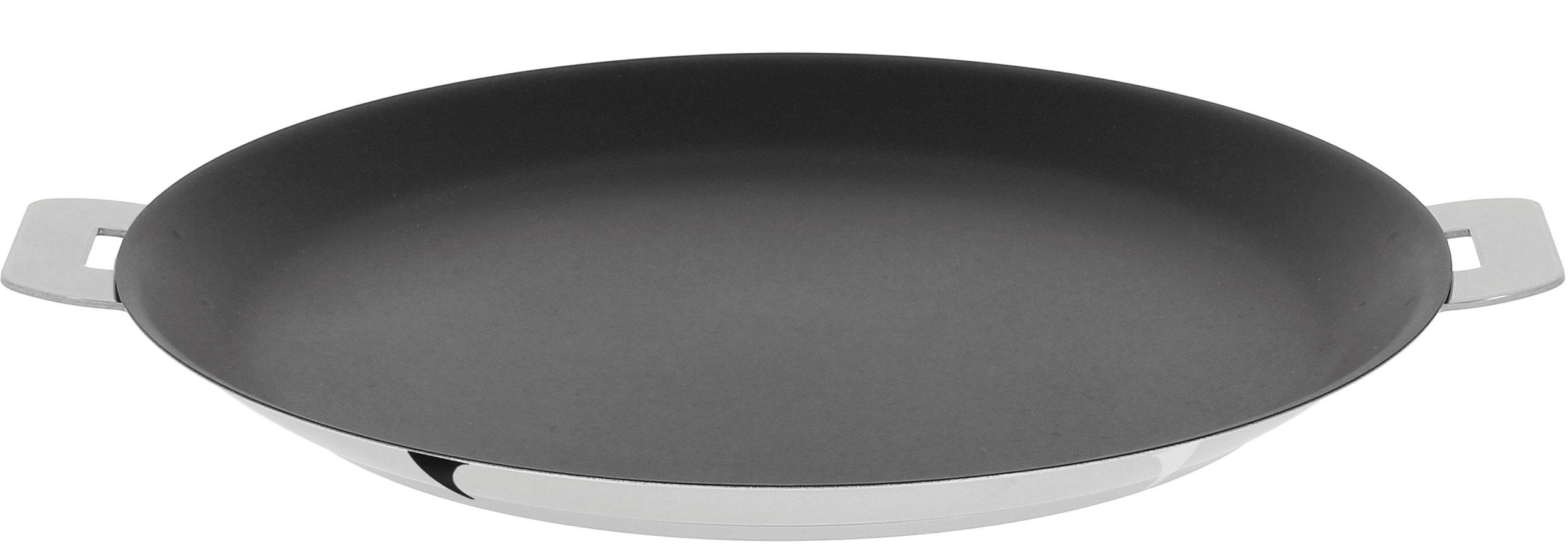 Cristel Mutine CR30QE Crepe pan, 12'', Silver