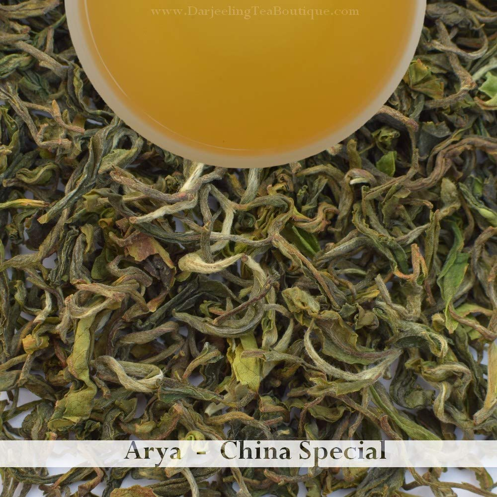 2019 Darjeeling first flush Black Tea   An Organic China Cultivar Tea from Arya   500gm (1.1lb) 200+ cups   Darjeeling Tea Boutique