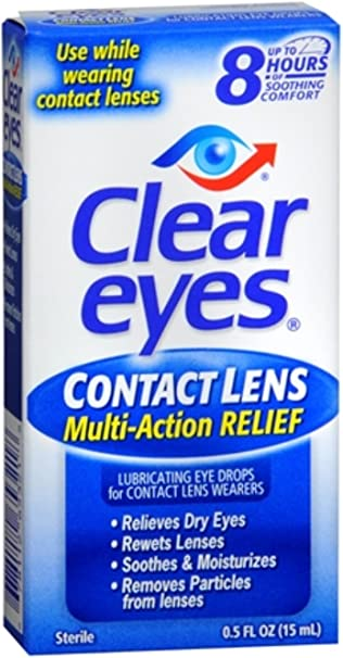 Image result for CLEAR EYES CONTACT