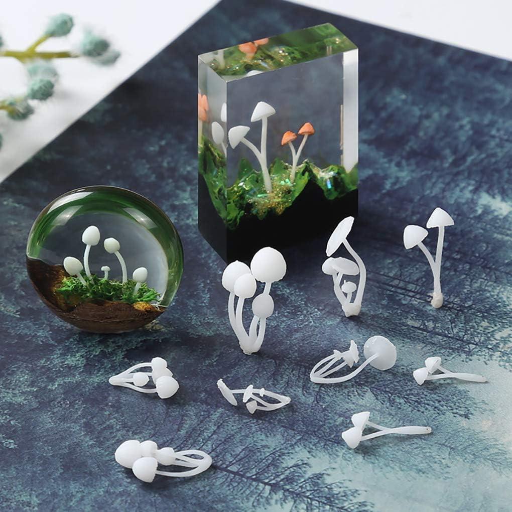 Rolin Roly 9 St/ück 3D Mini Pizl Harz Resin Mold Harz Dekoration Epoxy Ornamente DIY Handwerk Schmuckherstellung Zubeh/ör 9verschiedene Gr/ö/ßen