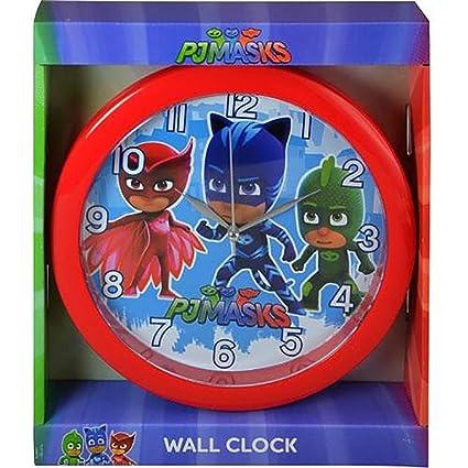 """PJ Masks 10"""" Round Wall Clock Standard"""