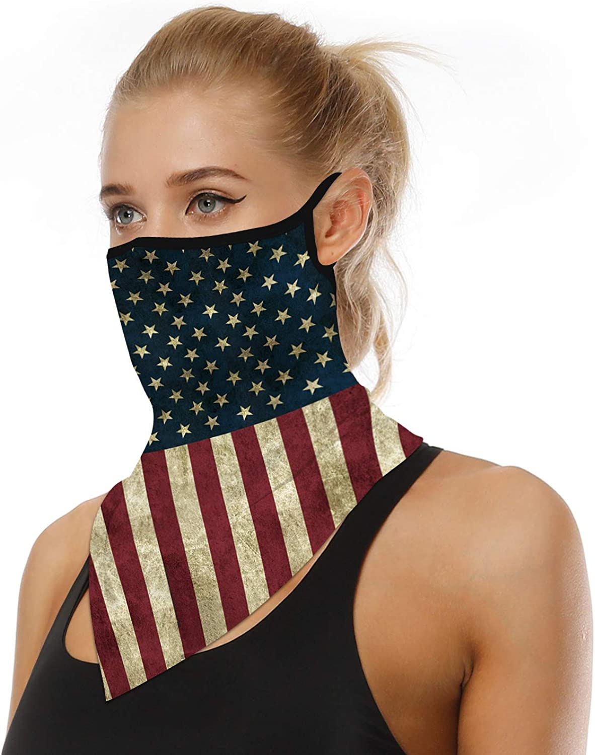 Bandana Yoga and Outdoor Sport Snood Headband Scarf Unisex Multifunctional Face Masks Reusable Washable Running Balaclavas Face Covering for Cycling Neck Gaiter